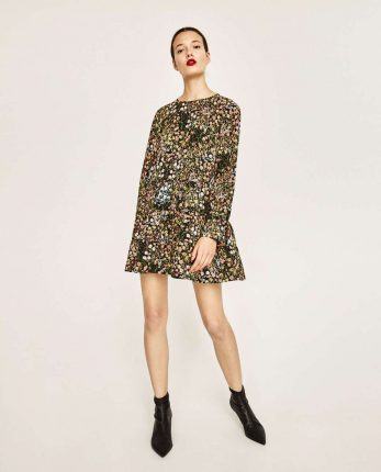 Minidress A Fiori Zara