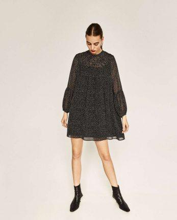Minidress Bicolor Zara