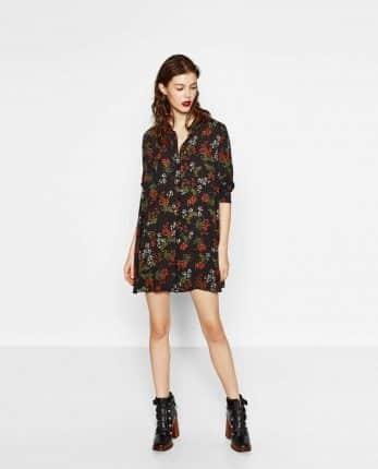 Minidress Fiorato Zara