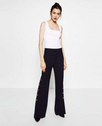 Pantaloni A Vita Alta Zara