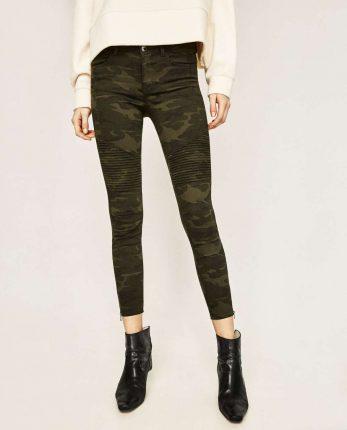 Pantaloni Camouflage Zara