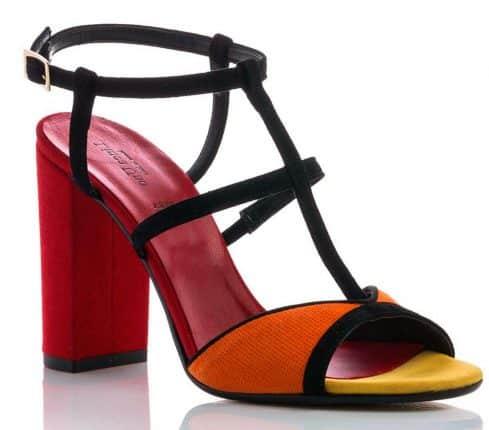 Sandalo In Simil Pelle Colorati (€69,90)