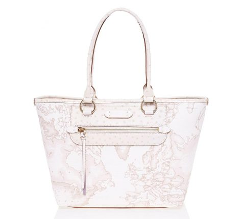 Shopping Bag Geo White (248 Euro)