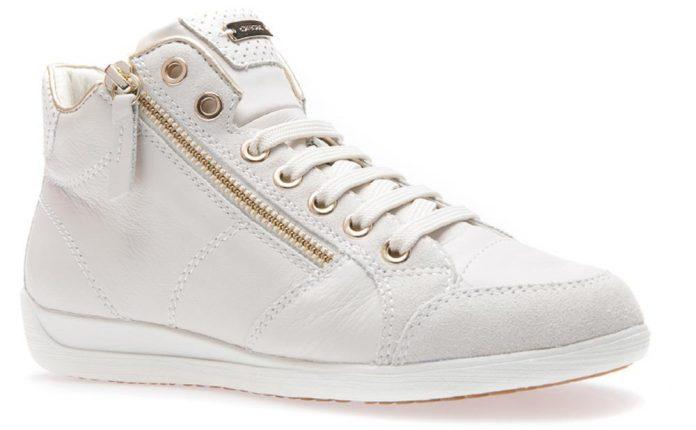 Sneakers Myria Con Zip Dorata (prezzo 115,00 Euro)
