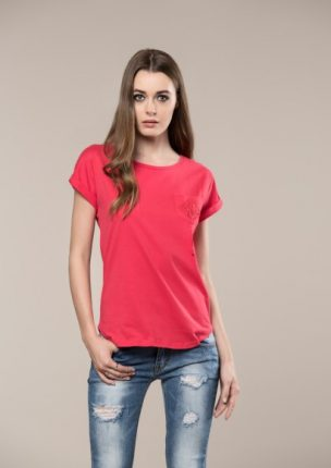 T Shirt Rossa Koralline