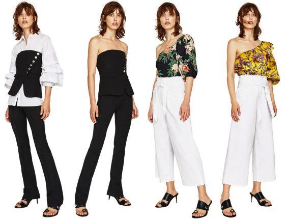 Zara Primavera Estate 2017 nuovo catalogo - Abbigliamento donna ... 032bfc68103