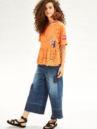 Pantaloni A Pinocchietto Beatrice B